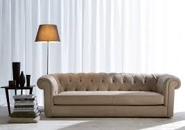 Classic Chesterfield Sofa by Chesterfield Sofa Leather Fabric 3 Seater Boston Berto