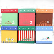 2017 exquisite small gift box cartoon square christmas eve apple