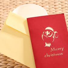 aliexpress com buy 3d pop up christmas cards postcard animals