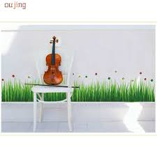 Happy Home Decor Grass Mural Promotion Shop For Promotional Grass Mural On