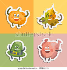 vector illustration emoticons emoji stickers set stock vector