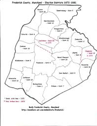 maryland map by county outline frederick roots