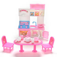 Barbie Kitchen Furniture Popular Barbie Table Set Buy Cheap Barbie Table Set Lots From