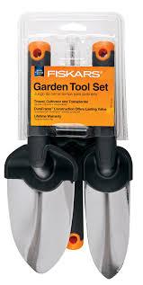 amazon com fiskars 370770 1001 duraframe garden tools set