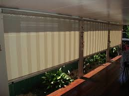 Roll Up Patio Screen by Weather Coming In Onto Your Patio Blinds Awnings Shutters