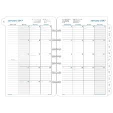 amazon black friday 2017 list amazon com day timer monthly planner calendar refill 2017 two