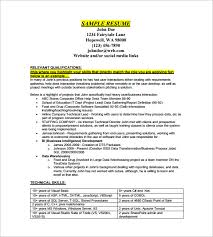 financial analyst resume exles 2 data analyst resume template 8 free word excel pdf format