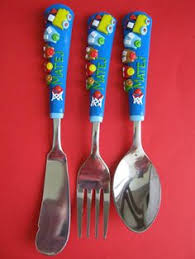 children handmade personalized cutlery gift for birthdays