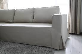 2 cushion sofa slipcover loose fit linen manstad sofa slipcovers now available