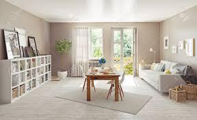Modern Interior Design D Concept Stock Photo Picture And - Modern interior design concept