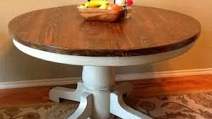 distressed round dining table distressed round dining table popular and chairs com for 16 concept