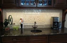 kitchen backsplash medallions decorative ceramic tile backsplash