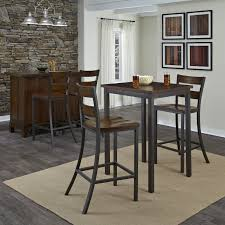 square pub table with storage home styles cabin creek 3 piece square pub table set just right