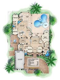 apartments courtyard floor plans courtyard house plans stock