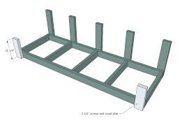 Free Wood Glider Bench Plans by Ana White Large Modern Porch Swing Or Bench Diy Projects
