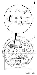 vauxhall workshop manuals u003e corsa d u003e h brakes u003e rear wheel brake