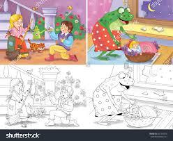 cinderella thumbelina fairy tales illustration stock