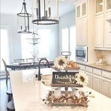 kitchen island decor fall home tour part 2 kitchens autumn and holidays