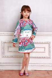 monsoon kids 2017 wl monsoon dresses kids printed 2016 autumn new fashion