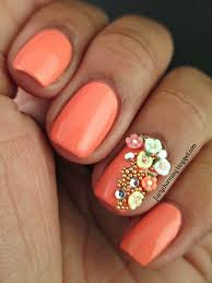 acrylic nails with diamonds beautify themselves with sweet nails