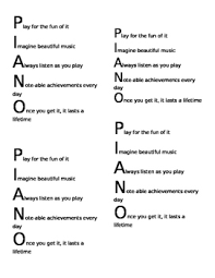 acrostic poem for piano by meg s piano studio tpt