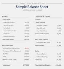 Small Business Balance Sheet Template Balance Sheet Small Business Balance Sheet