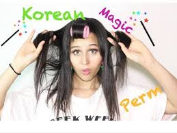 hair relaxer for asian hair update korean magic perm on 4a 4b hair youtube