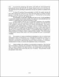 auditing chapter 15 solution manual chapter 15 audit sampling