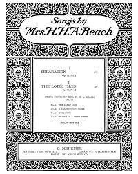 thanksgiving sheet music 2 songs op 76 beach amy marcy imslp petrucci music library