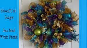 How To Make A Halloween Deco Mesh Wreath How To Make A Deco Mesh Wreath Easy Loop Method Youtube