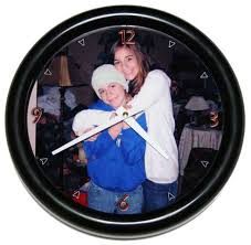 personalized clocks with pictures personalized photo wall clocks