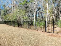 town u0026 country fences llc wood u0026 aluminum combo at spring grove