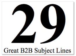 29 great b2b subject lines vr marketing