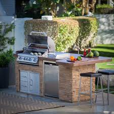 bull outdoor products bbq island with 4 burner angus gas grill