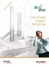 eco site ecosite catalogue 2013 antenna radio telecommunications