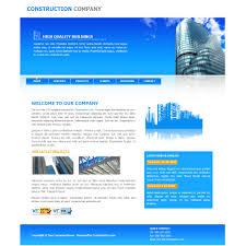 simple free web templates blue website templates