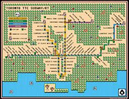 Super Mario Bros 3 Maps Toronto Subway Map In Super Mario Bros 3 Panic Gamer