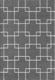Geometric Area Rug by Dynamic Rugs Silky Shag Rugs Collection Shoppypal