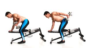 Dumbbell Exercises On Bench 7 Dumbbell Exercises To Tone Your Triceps Fitness Republic