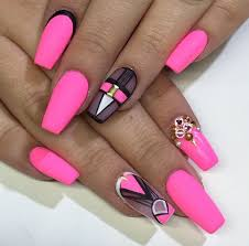 110 best nails images on pinterest coffin nails acrylic nails