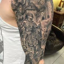 medieval sleeve tattoo best tattoo ideas gallery