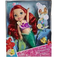 disney princess colors sea ariel doll walmart