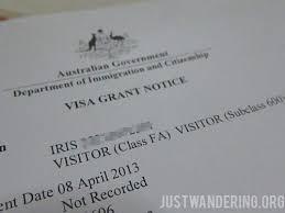 australian visa grant letter exle 100 images fair invitation