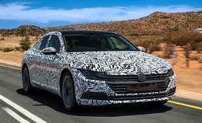 volkswagen arteon rear 2018 volkswagen arteon prototype drive u2013 review u2013 car and driver