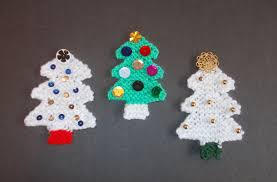 marianna s lazy days knitted tree decorations