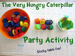 Fun Games For Kids At Home by Learn With Play At Home Very Hungry Caterpillar Party Activity