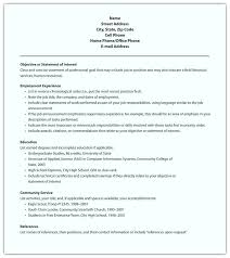 resume free format resume layout sle format for chronological free simple
