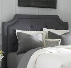 626 queen chesterfield upholstered sleigh headboard in tufted