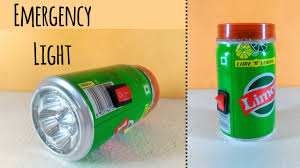 rechargeable light for home how to make a rechargeable emergency led light at home by using
