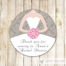 bridal shower favor tags favor labels tags page 5 pink the cat
